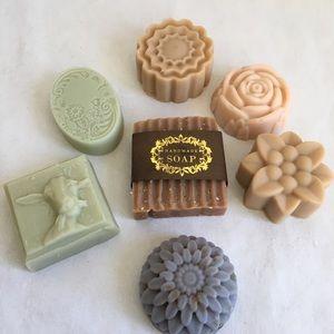 Handmade goat milk soap variety set